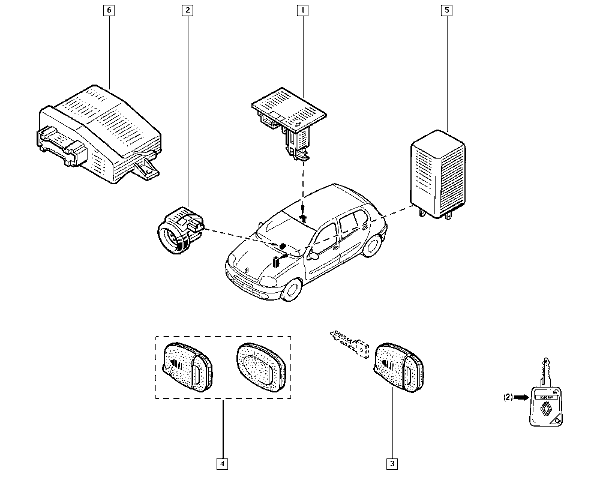 renault clio 2001 engine diagram
