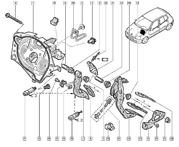 Renault Clio Sport 172 Wiring Diagram : Clio clutch pedal fault cliosport