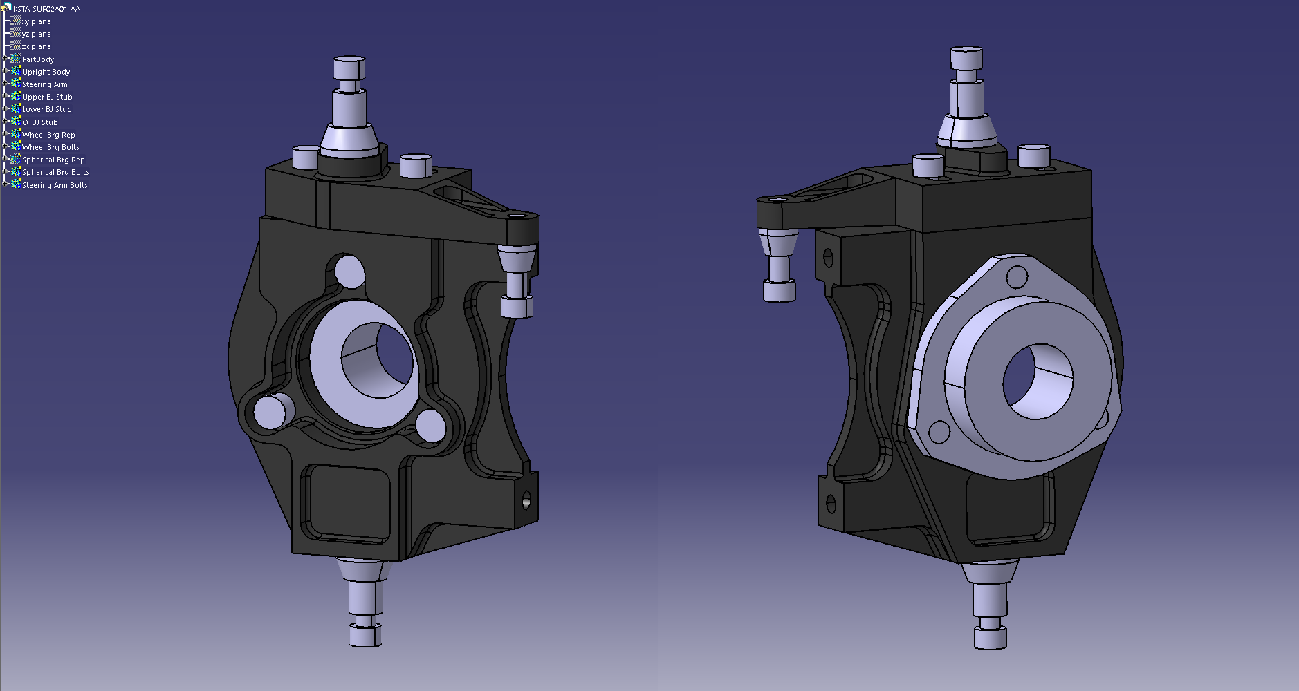 24JAN - Front hub design - Stress Testing.png