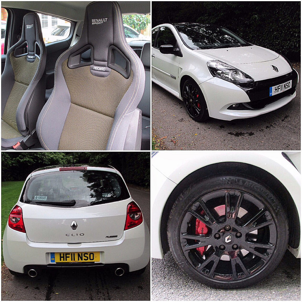 Clio 200 Rs Pearl White Cup Pack Cliosport Net