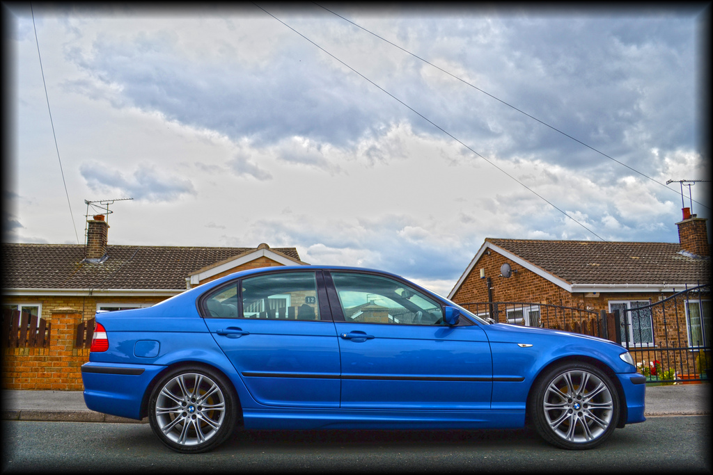 My Estoril Blue E46 320d Sport Cliosport Net