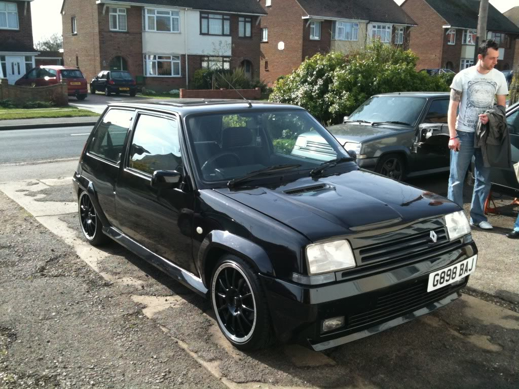 renault 5 gt turbo f7p turbo powered tungsten track car. Black Bedroom Furniture Sets. Home Design Ideas