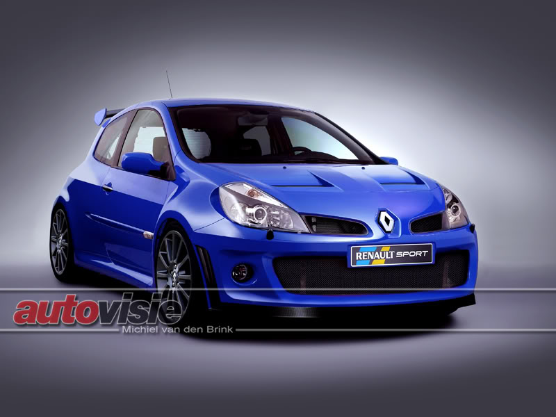 renault clio rs turbo 4x4 impression. Black Bedroom Furniture Sets. Home Design Ideas