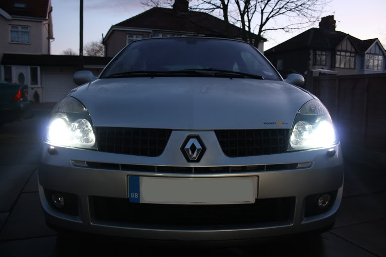 Replacement Xenon Blue 8000k HID Bulb Renault Clio 172