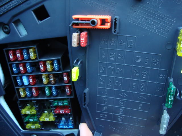 Renault Clio 2001 Fuse Box Diagram : Fuse box cover cliosport