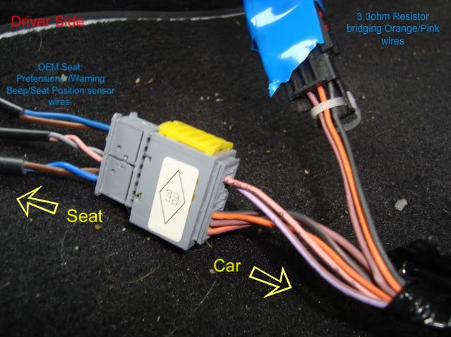 Renault Clio Airbag Wiring Diagram : Seat airbag wiring question cliosport
