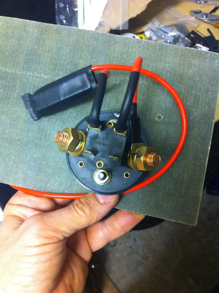 Ignition switch to ignition coil feed, which wire for FIA switch ...