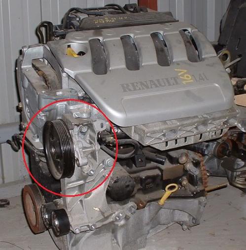 auxiliary belt idler bearing shagged cliosport net rh cliosport net Old Renault Clio Renault Clio Interior