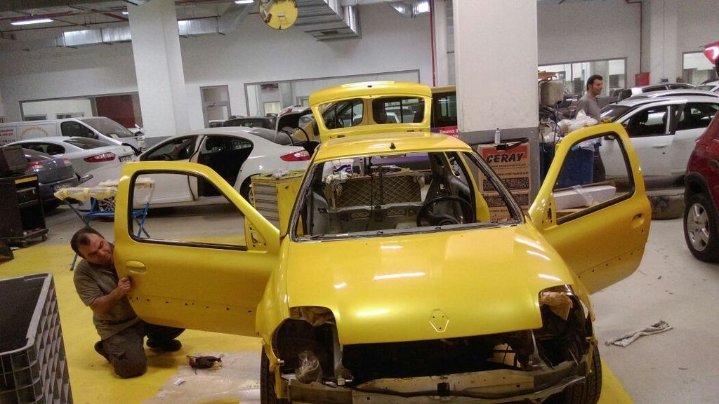 Clio 172 Liquid yellow from istanbul | ClioSport net