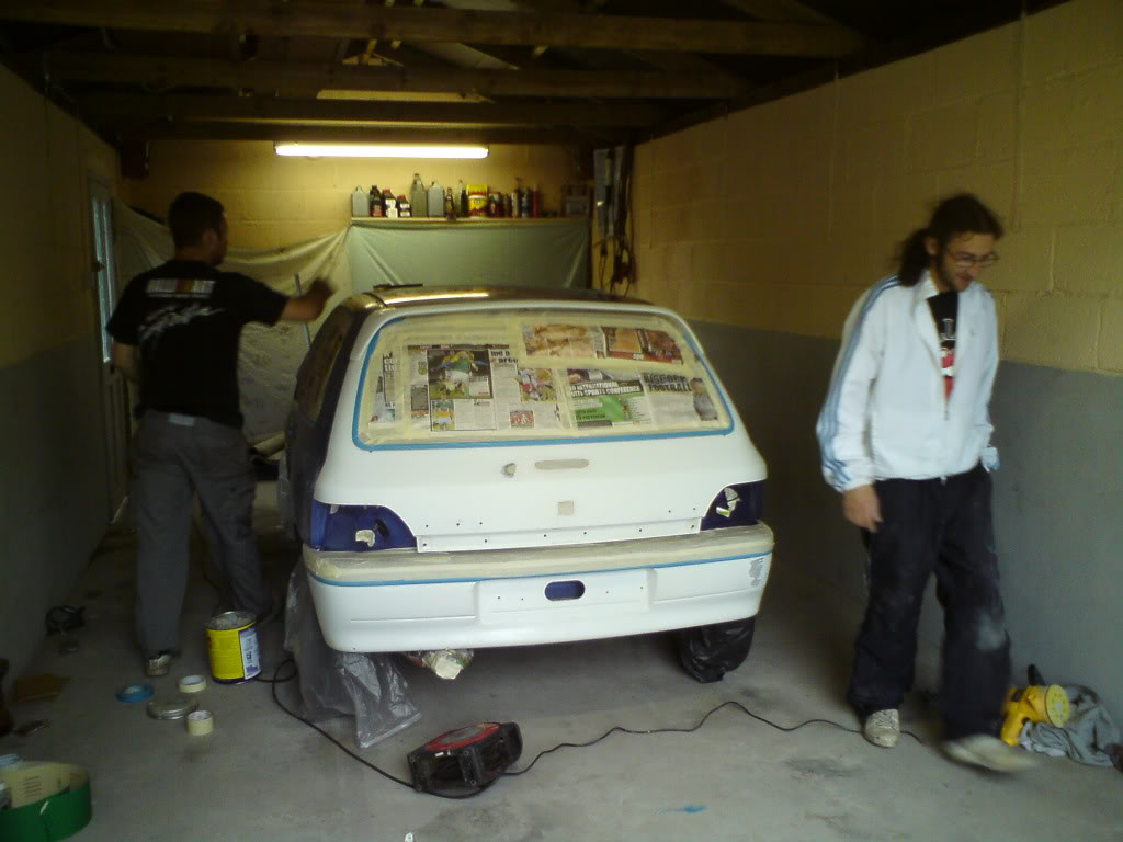 1996 1 2 clio the beagle saga for Garage auto begles