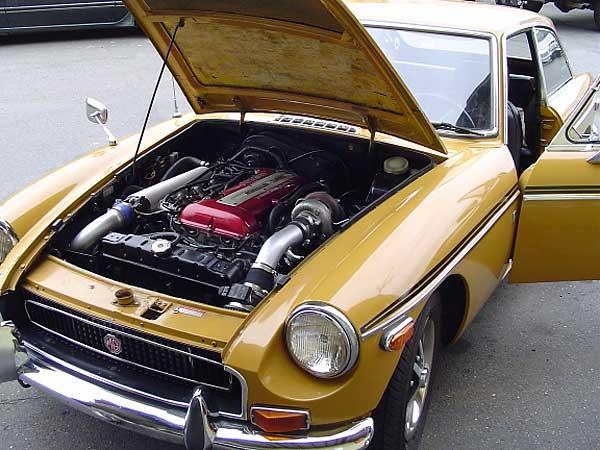 MGB GT - Engine Swap     | ClioSport net