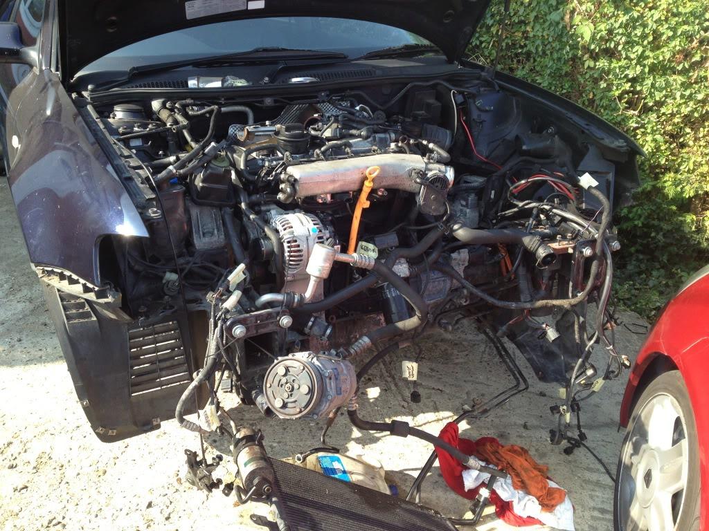 Audi S Driveway Engine Removal ClioSportnet - Audi s3 engine