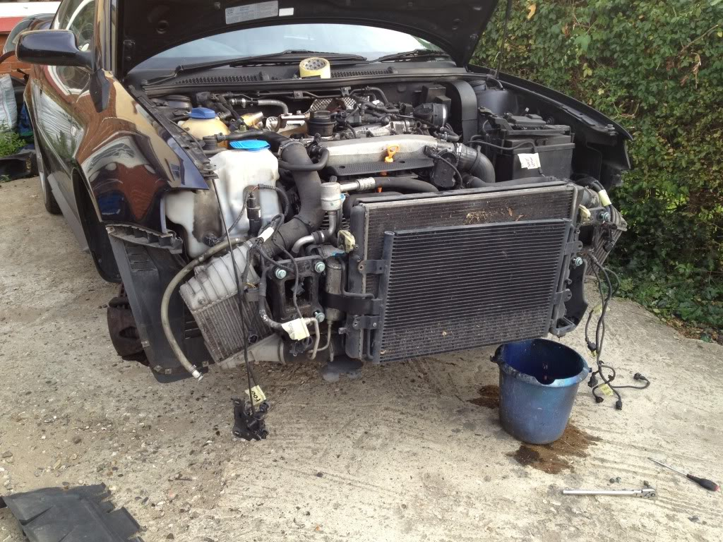 Audi S3 Driveway Engine Removal Cliosport Net