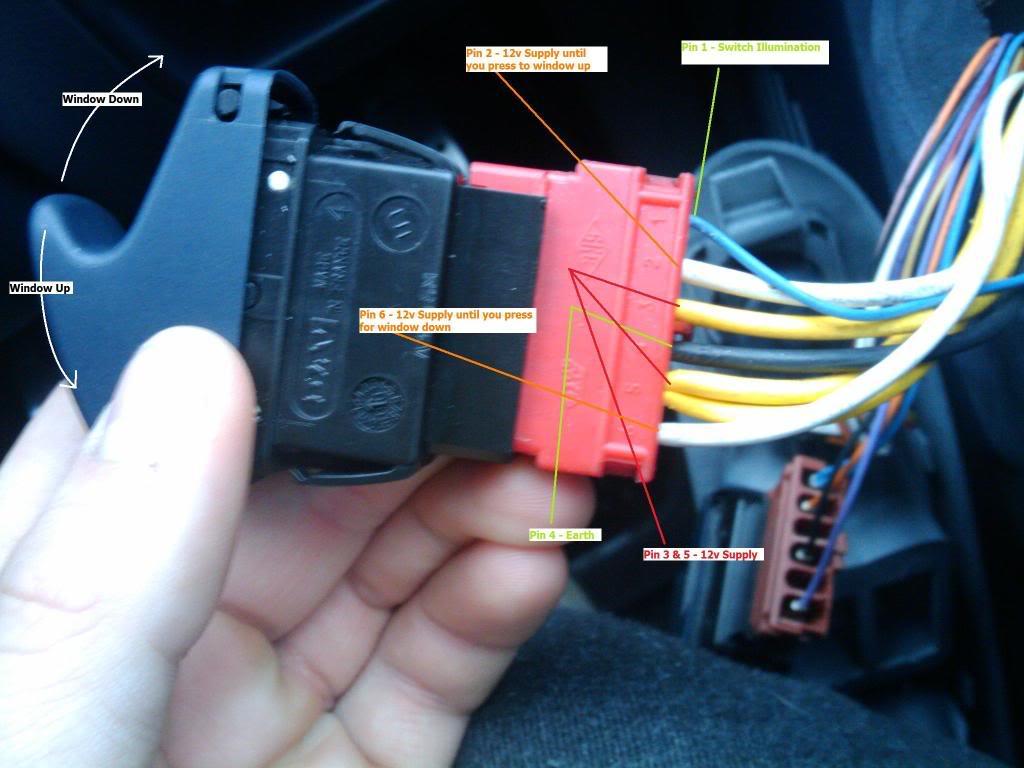 electric window switch help!! | cliosport.net renault megane window switch wiring diagram  cliosport.net