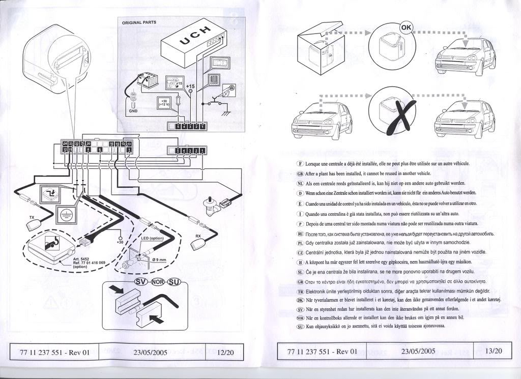 renault clio alternator wiring diagram renault clio 172 wiring diagram 172 cup alarm led | cliosport.net #11