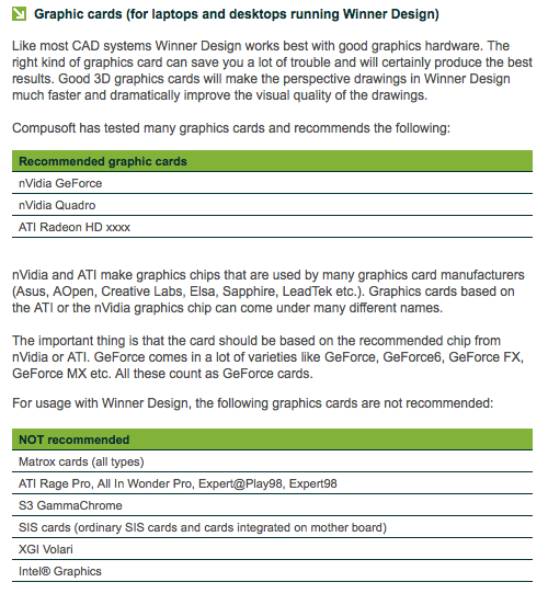 Graphics card for rendering / design work  | ClioSport net