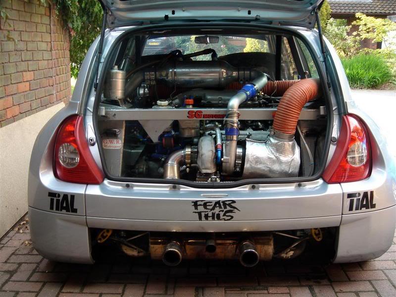 Supercharged V6 | ClioSport net