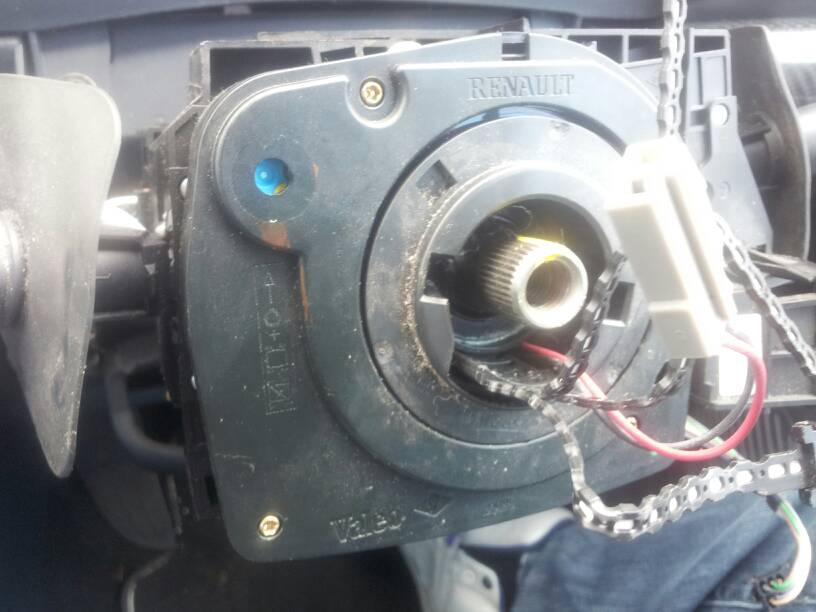 how to reset the steering angle sensor back to 0 after