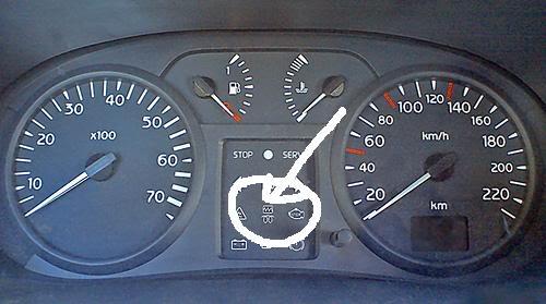 Renault clio immobiliser light flashing