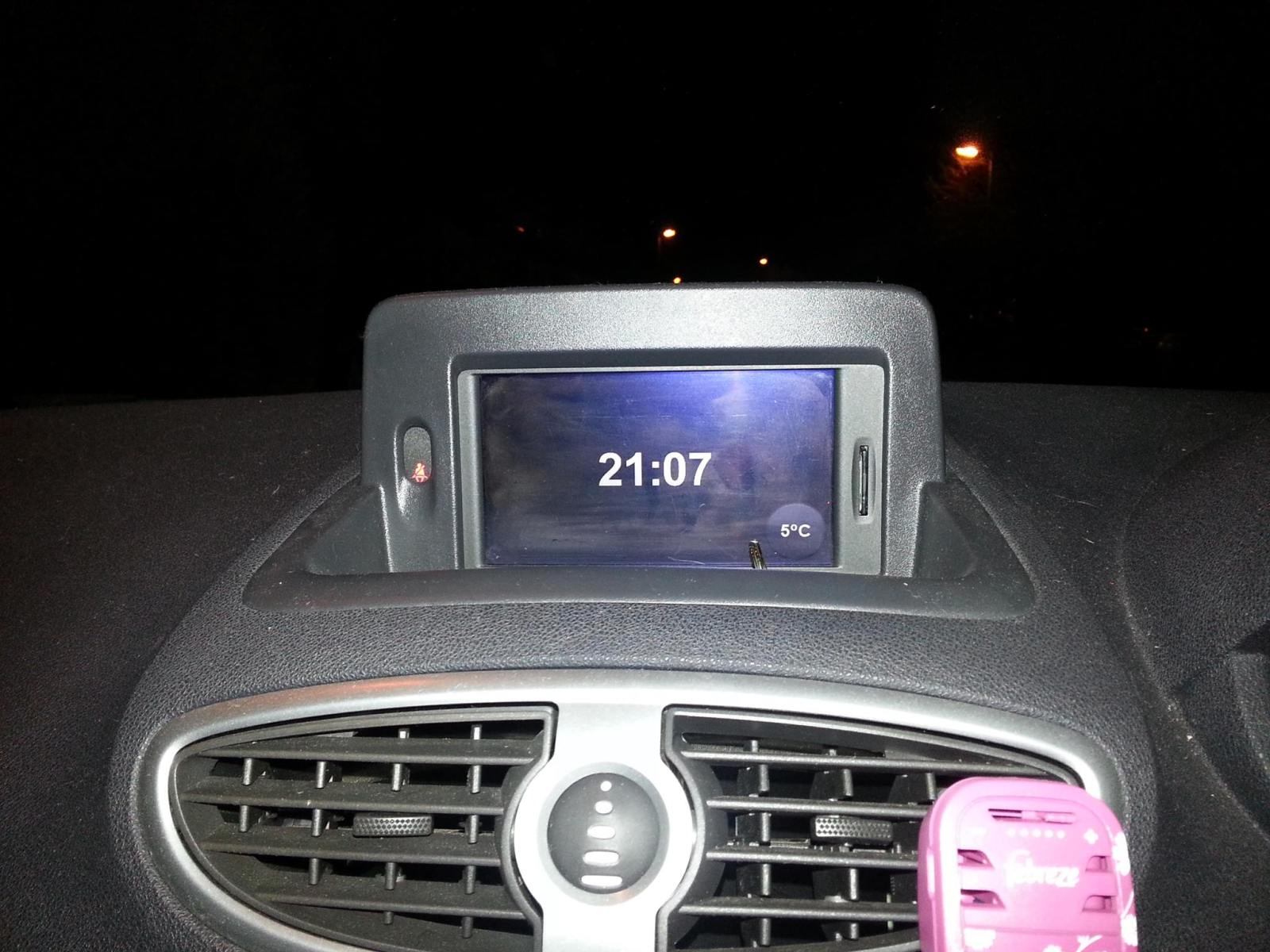 Sat Nav and Radio Issues | ClioSport net